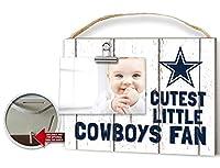 KH Sports Fan Clip It Weathered Baby Logo Photo Frame Dallas Cowboys [並行輸入品]