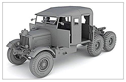 サンダーモデル 1/35 イギリス軍 スキャメルパイオニア 戦車運搬トラクター + 30トントレーラー TRMU30/TRCU30 プラモデル TH35200