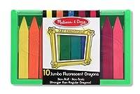 Melissa & Doug Jumbo Florescent Crayons [並行輸入品]