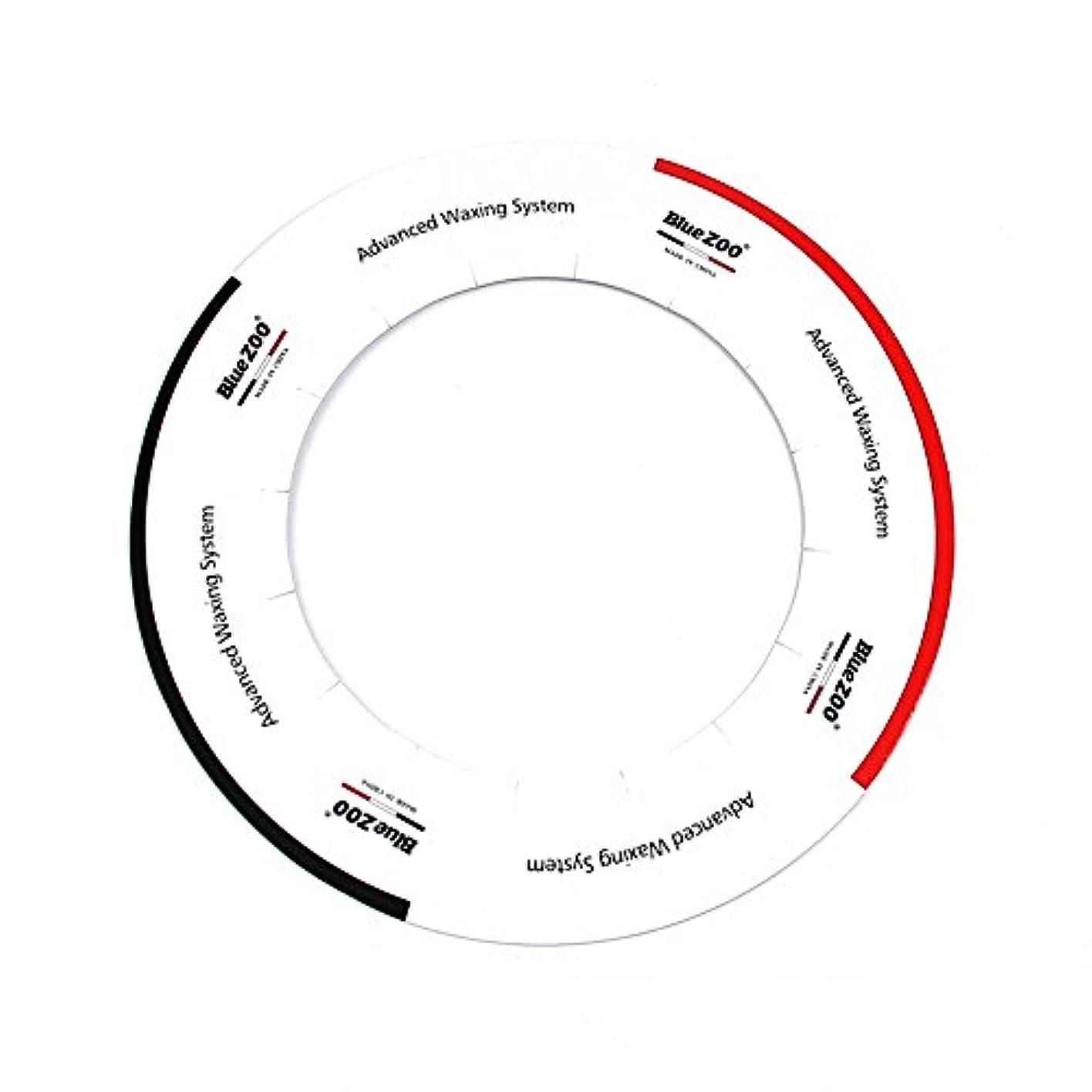 枯渇するハング熱帯のDecdeal ワックスヒーター アクセサリー 10個/パック 標準 ワックス ヒーターパッド カラー プロな保護クリーンポットアクセサリー