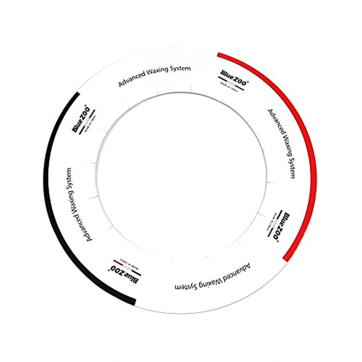 下写真を描くバイソンDecdeal ワックスヒーター アクセサリー 10個/パック 標準 ワックス ヒーターパッド カラー プロな保護クリーンポットアクセサリー