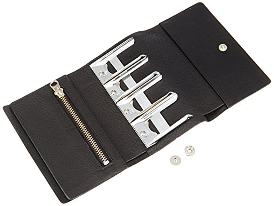 脊椎上院議員小さなクラフト社 レザークラフト用半製品 財布 セパレートコインパース 11×7.5cm 4580 02?黒