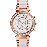 Michael Kors Women's MK5774 Parker Rose Gold-Tone Watch