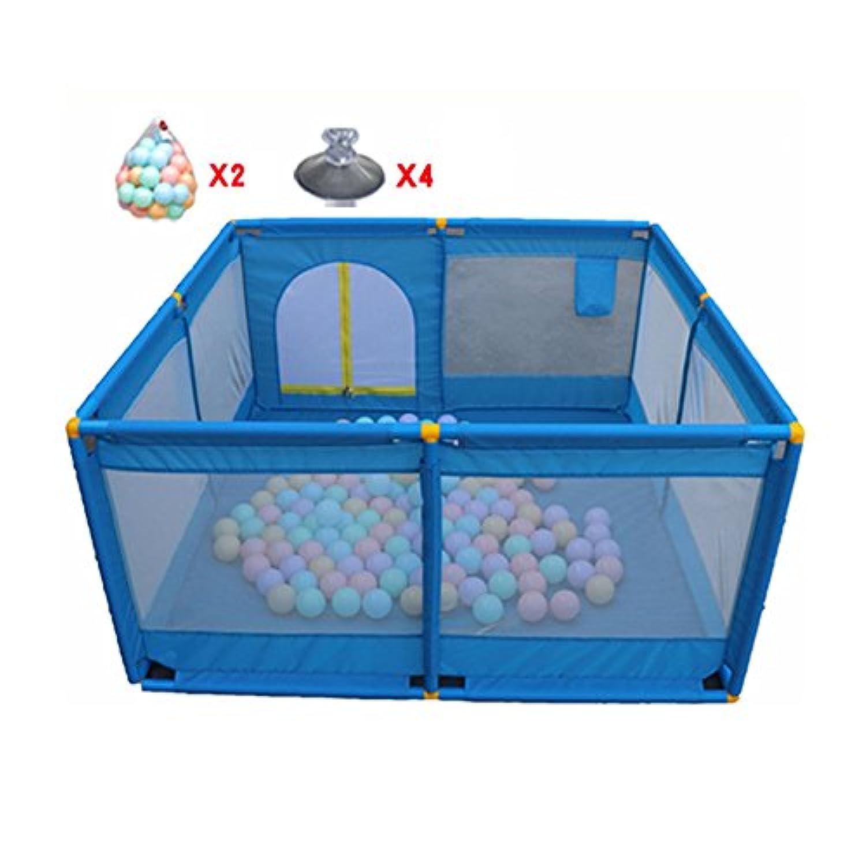 子供の遊び場、ボール、屋内屋外の安定した子供幼児子供ヘビーデューティーフェンス (色 : 100 balls)
