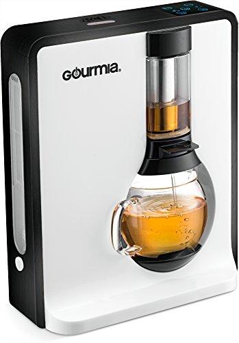 gourmia–gct8000–Personal Tea &コーヒーメーカー–Loose Leaf Teas 1つボタン醸造システム ブラック GTC8000B