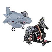 ハセガワ たまごひこーき 航空自衛隊 F-4 & F-15 飛行開発実験団 60周年記念 ノンスケール プラモデル 60512