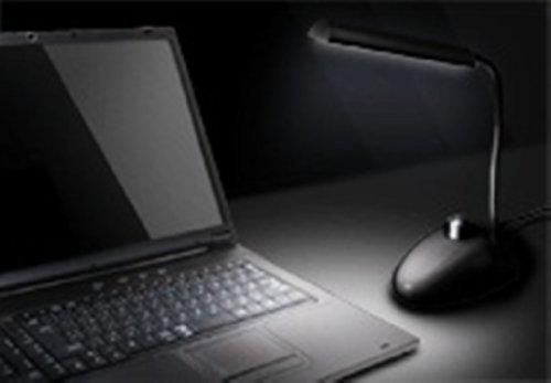 グリーンハウス USB 8LEDライト スタンドタイプ ブラック GH-LED08STK 1台