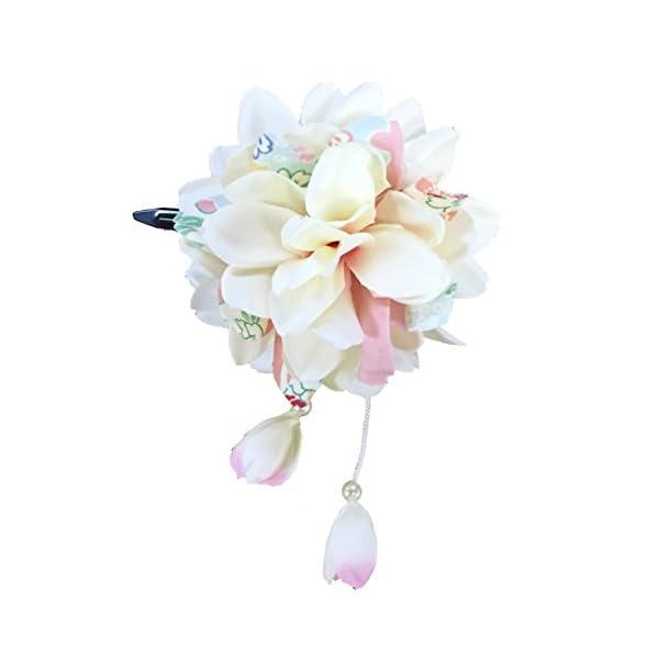 [粋花] Suika 和柄髪飾り 3155 オフの商品画像