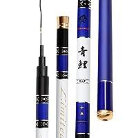 釣り竿19調節可能な6H超軽量スーパーハード台湾釣り竿ブラックピットロングセクション釣りギア (サイズ さいず : 6.3m)