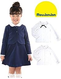 【子供服】 moujonjon (ムージョンジョン) 日本製型違い天竺ブラウス 100cm~130cm M26502