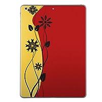 iPad mini4 スキンシール apple アップル アイパッド ミニ A1538 A1550 タブレット tablet シール ステッカー ケース 保護シール 背面 人気 単品 おしゃれ フラワー 花 フラワー シンプル 004943