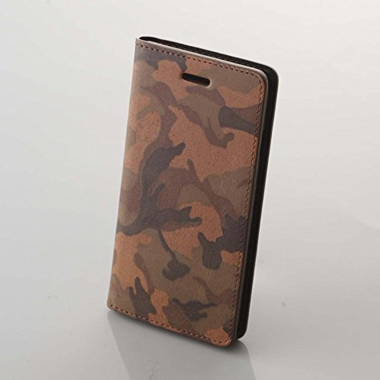 禅-ZEN- iPhone 6/6s 用 カムフラージュCAM-6/ブラウン