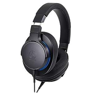 オーディオテクニカ ハイレゾ対応 ダイナミック密閉型ヘッドホン(ブラック)audio-technica ATH-MSR7B-BK