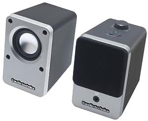 audio-technica デスクトップスピーカー シルバー AT-SP102 SV