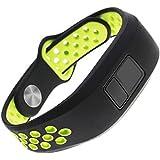 Replacement Band for Garmin Vivofit 3 Vivofit JR Junior 2 Kids Fitness Wristband Black+Green