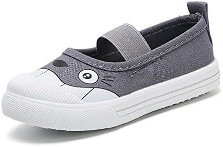 une beauté enfants toile basket glisse bébés sur les bébés glisse garçons filles de façon occasionnelle des chaussures de bateau (Bleu -21 / 5 m us toddler) f2302c
