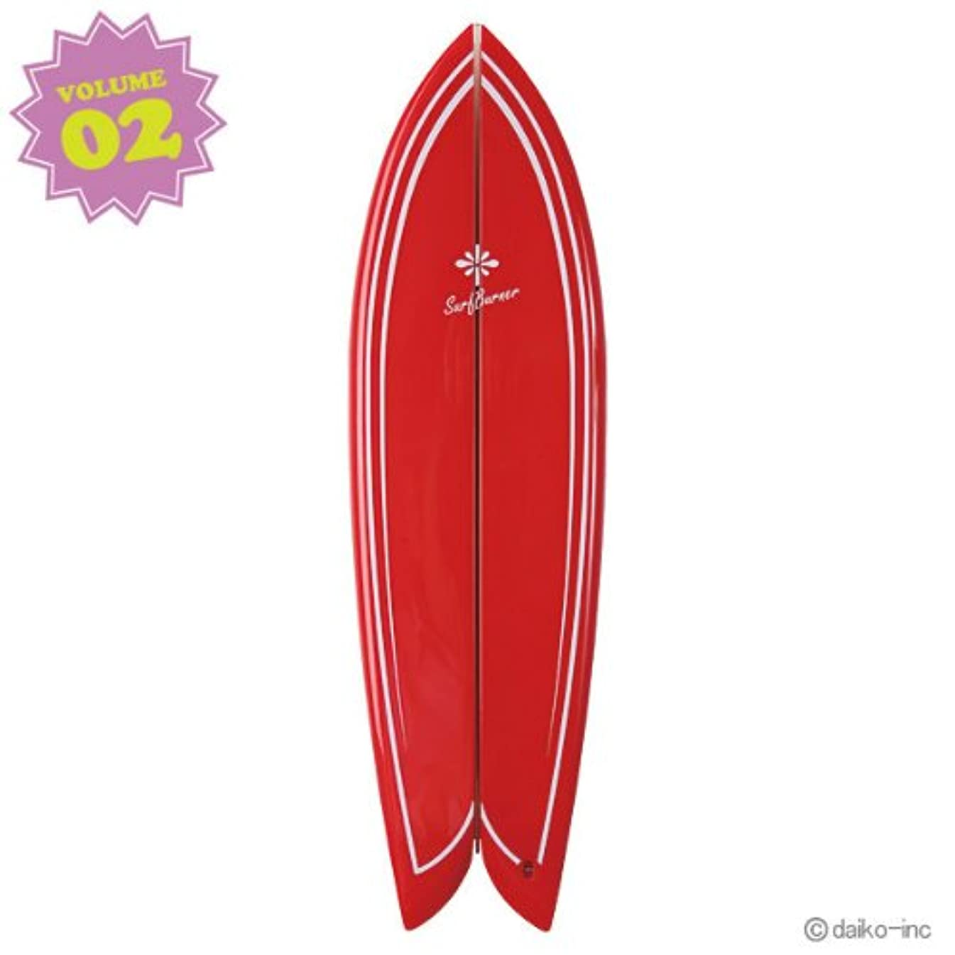 コメントファンドひそかに大香 SURF BURNER サーフバーナー RETRO FISH Jeffreys Bay Vol.2