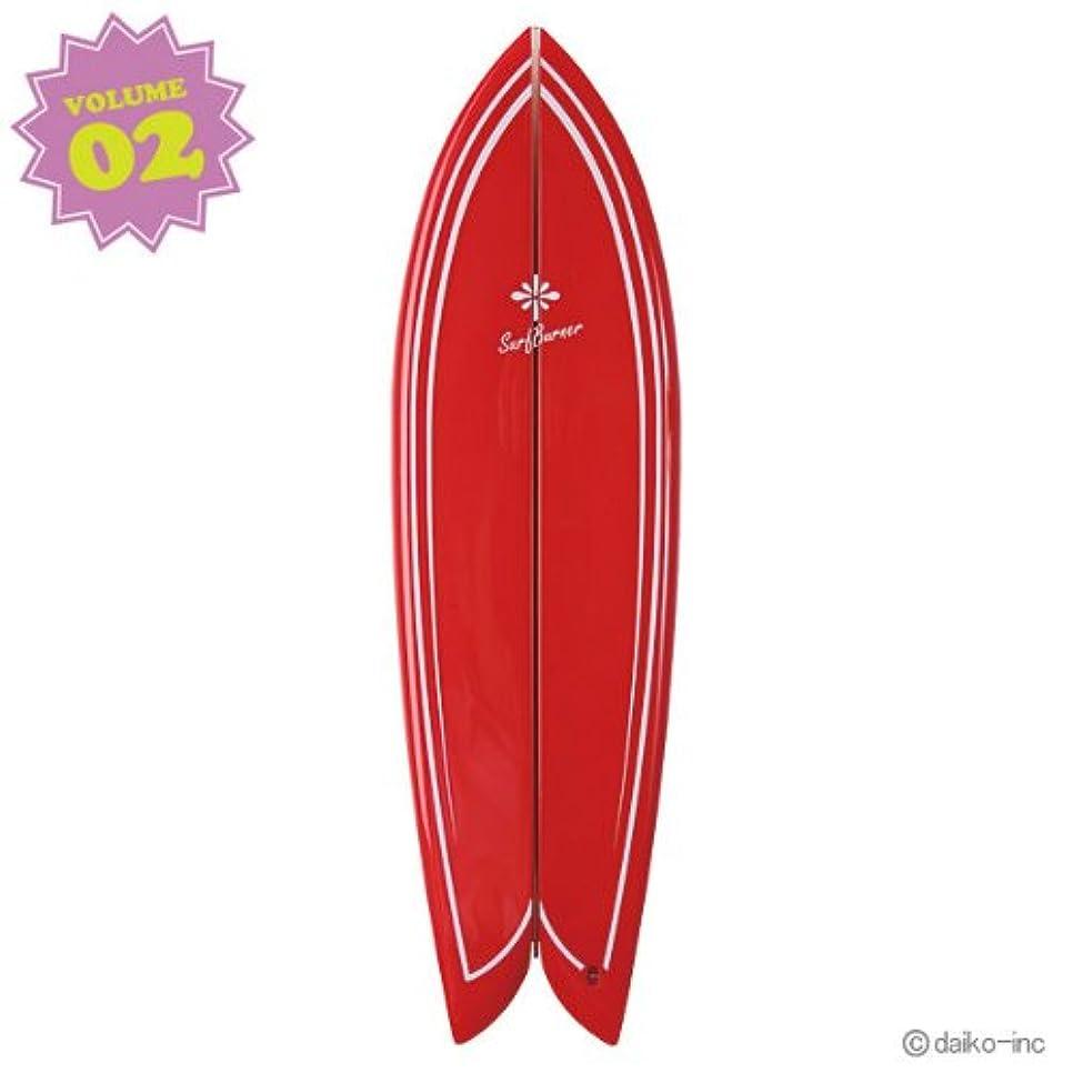 正確方向葉っぱ大香 SURF BURNER サーフバーナー RETRO FISH Jeffreys Bay Vol.2