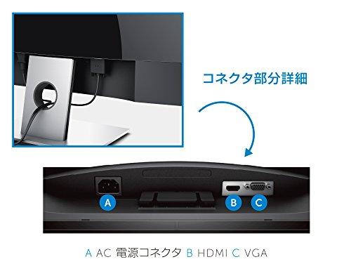 Dell ディスプレイ モニター SE2216H 21.5インチ/フルHD/VA非光沢/12ms/VGA,HDMI/3年間保証
