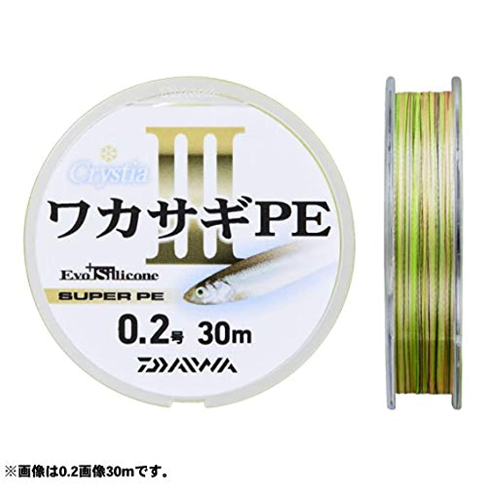によって保険をかける溶融ダイワ ライン クリスティアワカサギPE III 30m 0.3号