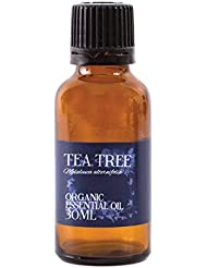 Mystic Moments | Tea Tree Lemon Scented Organic Essential Oil - 30ml - 100% Pure