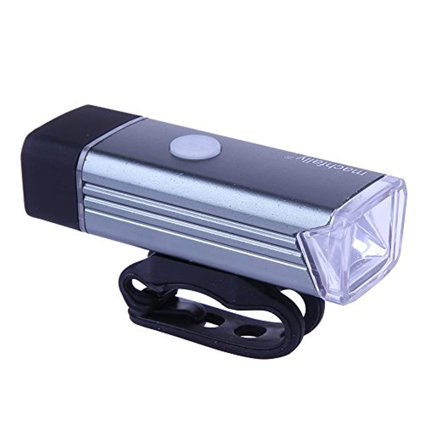 お手伝いさんプログレッシブくるくる自転車ライト 自転車前照灯 LED 自転車ライト フラッシュライト フロントライト ロードバイクライト USB充電式 コンパクト 軽量 生活防水 ハイキング/夜釣り/作業/自転車/キャンプに最適 3タイプ全 SIKIWIND
