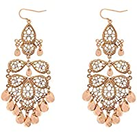 Colette Hayman - Filigree Beaded Drop Statement Earring