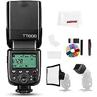 【正規品 技適マーク&日本語説明書】GODOX Thinklite TT600 2.4Gワイヤレスマスタースレーブカメラフラッシュフラッシュ内蔵のGodox Xシステムレシーバーと互換性があるCanon Nikonソニーオリンパス富士フイルムペンタックスカメラ (TT600)