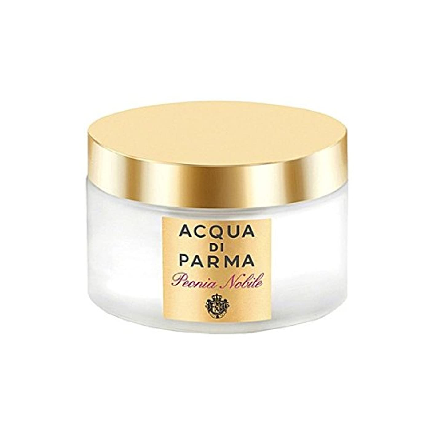 植木五ボクシングAcqua Di Parma Peonia Nobile Body Cream 150ml (Pack of 6) - アクアディパルマノビレボディクリーム150ミリリットル x6 [並行輸入品]
