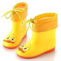 [Dizoony] レインブーツ 子供用 雨靴 雪地靴 長靴 レインシューズ 雨具 男の子 女の子 男女兼用 キッズ ジュニア 入園 通学 防水 防寒 軽量 滑り止め プリント 動物柄 7デザイン