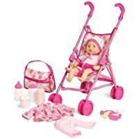 Kid Connection Baby Doll Stroller Play Set (1) [並行輸入品]