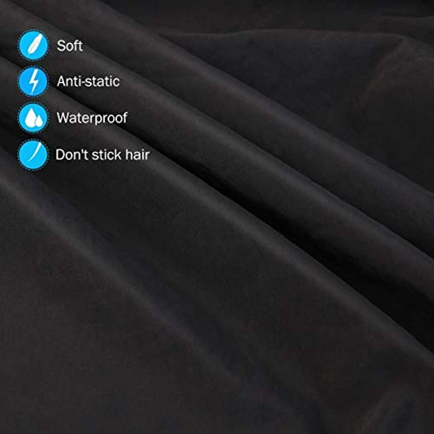 ソーセージ鉄道リストHIZLJJ 大広間の家の理髪師の観覧の窓が付いている理髪ケープのガウン毛の切断のための目に見える観覧の窓が付いている防水大広間のガウンのエプロン