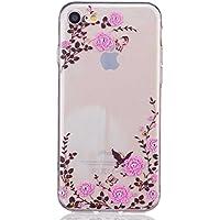 iPhone 7 ケース UNEXTATI 高品質 TPU カバー 超薄型 ケース 液晶保護 脱着簡単 耐汚れ 耐衝撃 柔軟 軽量 Apple iPhone 7 用 ケース Case Cover (#13)