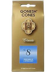 ガーネッシュ(GONESH) ナンバー インセンス コーン No.8 25個入(お香)