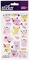 Sticko (スティッコ) スティッカー Themed - Kitty Cats 52-00815 [並行輸入品]