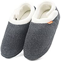 ARCHLINE Grey Marl Closed Comfortable Orthotic Slippers (37)