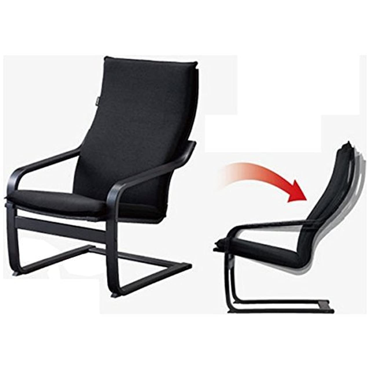 アダルト香りアジア人フジ医療器 シートマッサージャー用チェア(ブラック)my relax(マイリラ) MRL-10C