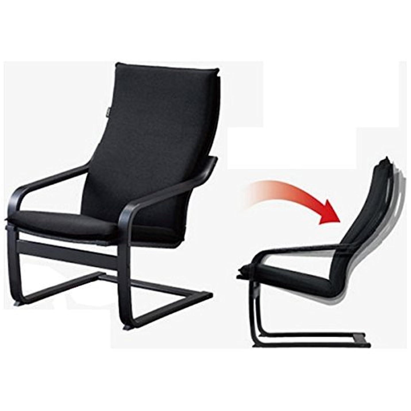 分散男らしさオーストラリア人フジ医療器 シートマッサージャー用チェア(ブラック)my relax(マイリラ) MRL-10C