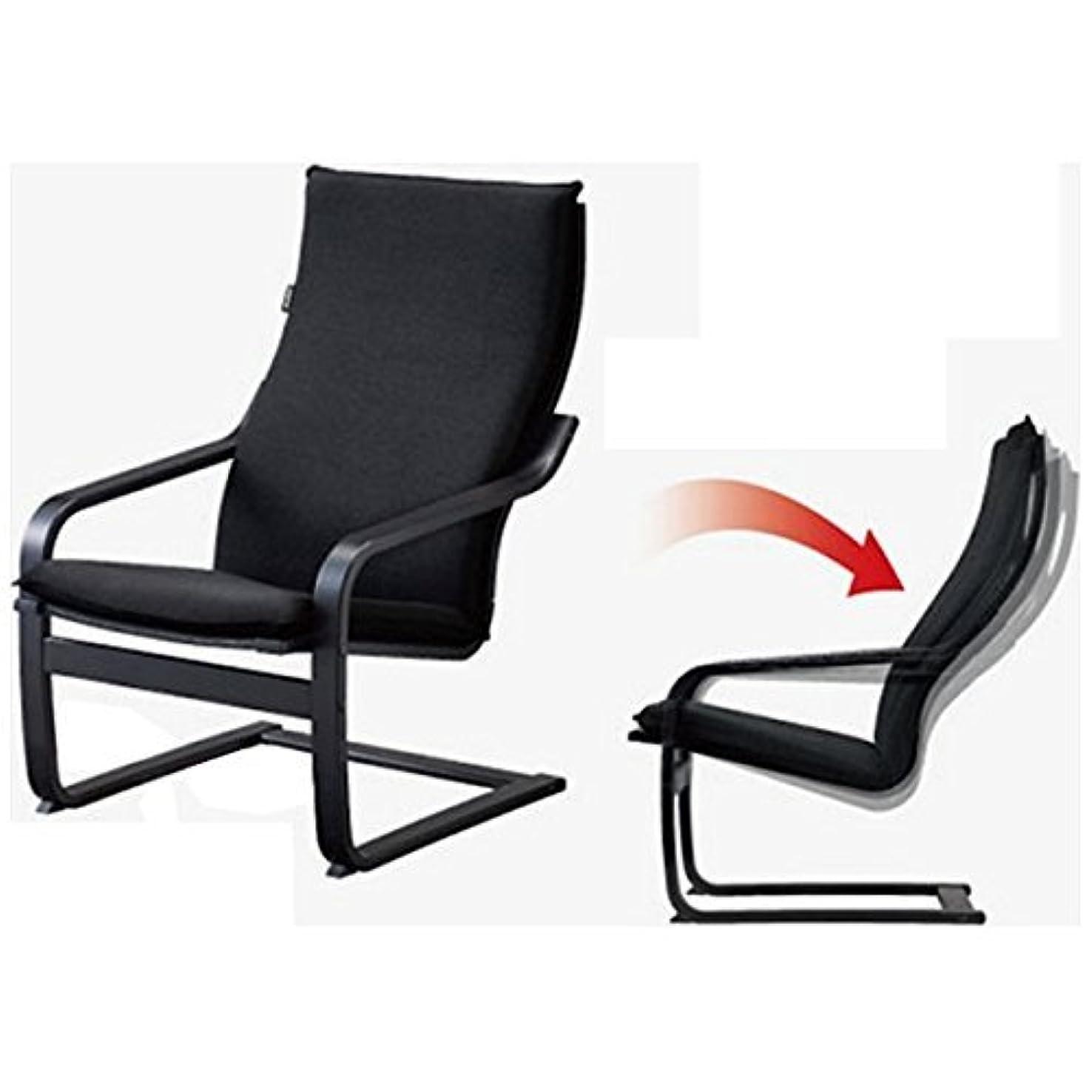 失望慢なズームフジ医療器 シートマッサージャー用チェア(ブラック)my relax(マイリラ) MRL-10C