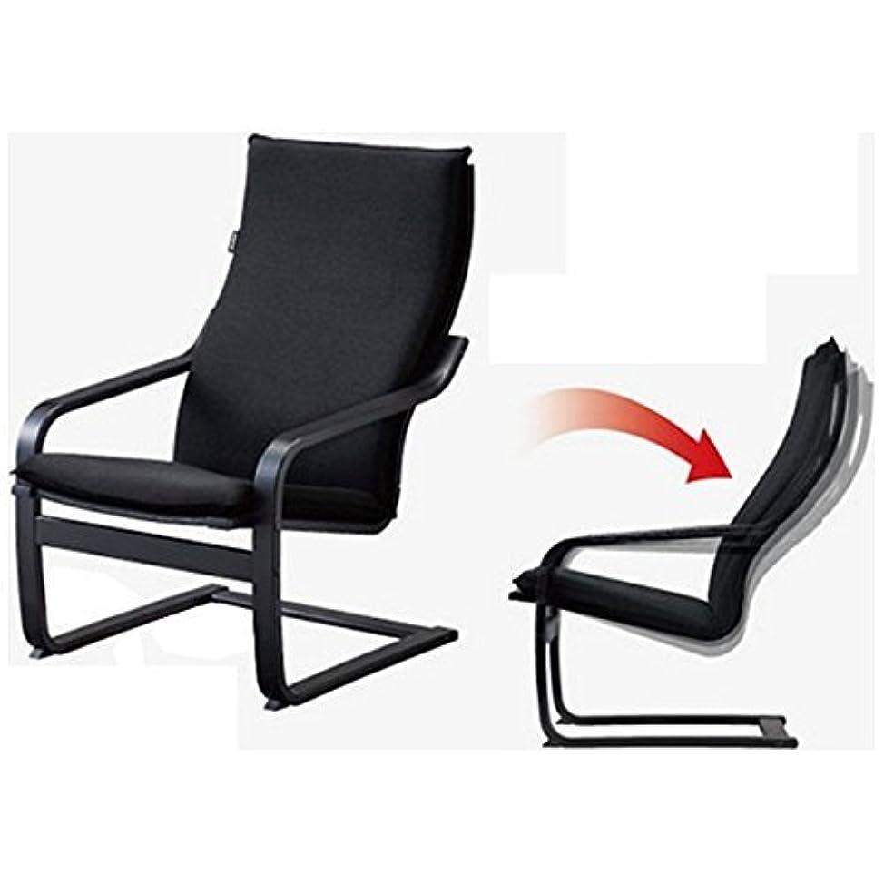 フルート用量マッシュフジ医療器 シートマッサージャー用チェア(ブラック)my relax(マイリラ) MRL-10C