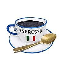 cookiecoke パン/卵/コーヒーカップ/やかん形、磁気、キッチン装飾 卵ミルクコーヒーカップパン冷蔵庫磁気冷蔵庫ステッカーキッチンインテリア-コーヒーカップ#