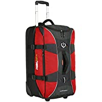 BlackWolf - Globerunner II 120L Duffle on Wheels - Chilli/Charcoal