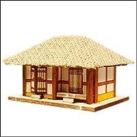 Young Modeler HO Serises, 木製モデルキット_ストロー屋根の家(YM611) [並行輸入品]