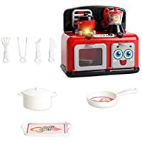 T TOOYFUL 電気器具モデル キッチン料理 模型 子供 おもちゃ ふり遊び ごっこ遊び 知育玩具 贈り物 全8色 - ストーブ炊飯器