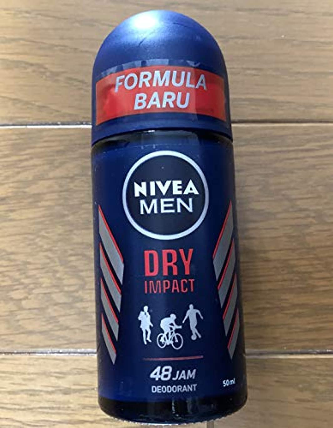 ネクタイケーブル行政Nivea Men Invisible Impact Roll On Anti-Perspirant Deodorant 50ml - 制汗デオドラント50ミリリットルのニベア男性の目に見えない影響ロール [並行輸入品]