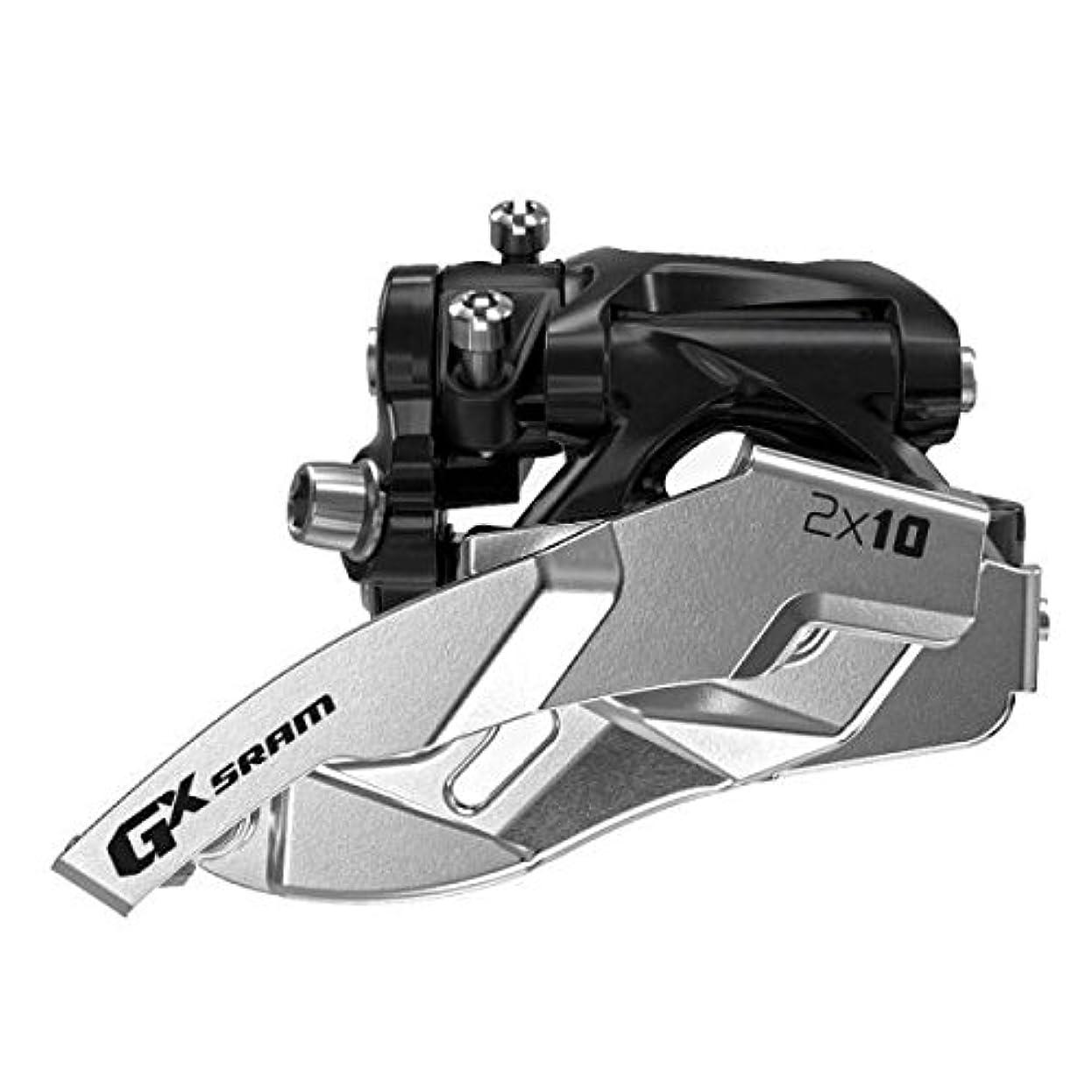 別れるシエスタ顕著SRAM FD GX 2x10 Top Pull Hi Clamp 34T