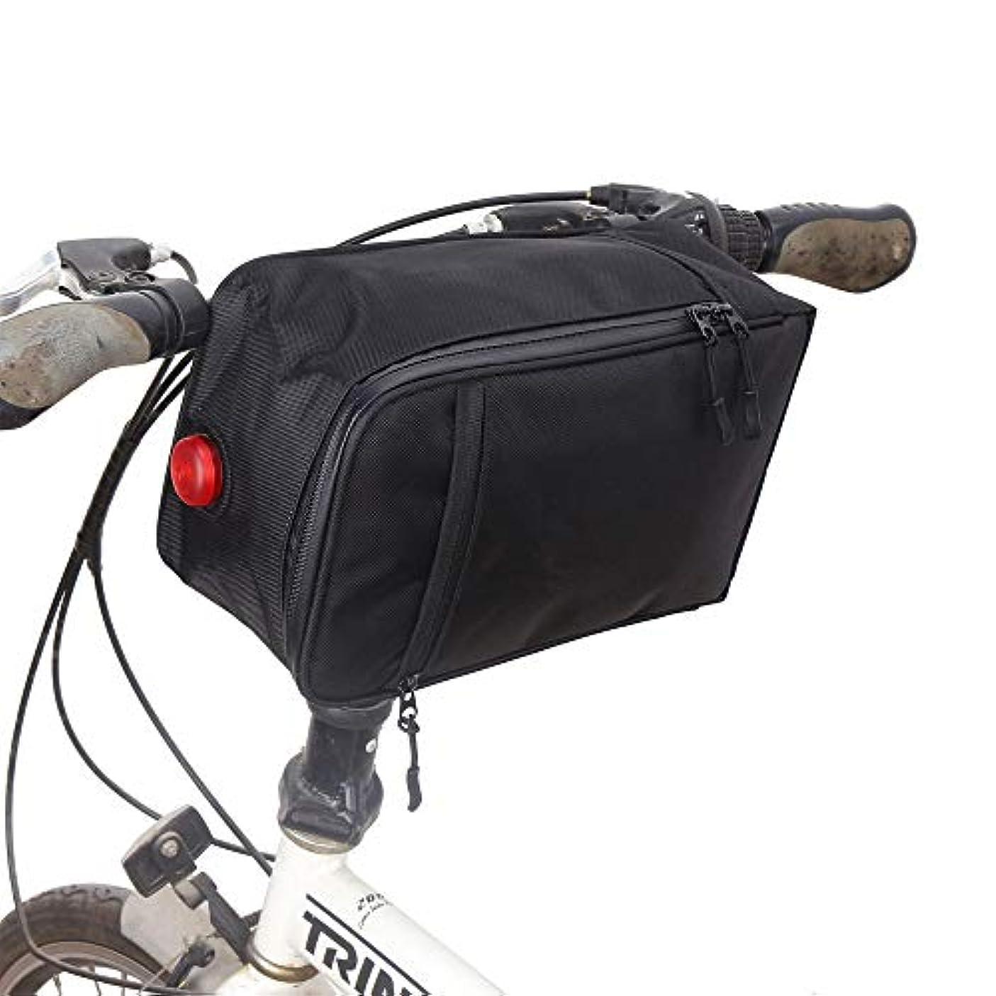 サイレン公平くびれた自転ドルバッグ シートポストバッグ パッケージシートカバートランクマット電動自転車後席テールバッグ 多機能 収納 取り付け簡単 防水
