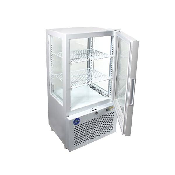 4面ガラス冷蔵ショーケース【JCMS-58】 ...の紹介画像3