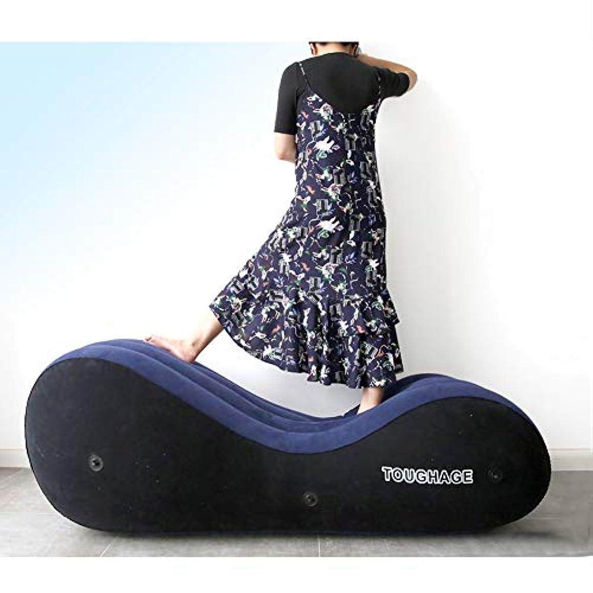折り目テクトニック哺乳類Rabugoo 大人のおもちゃ 性は大人の膨脹可能なソファーのおもちゃのエアクッションの女性の性の目的をもてあそびます