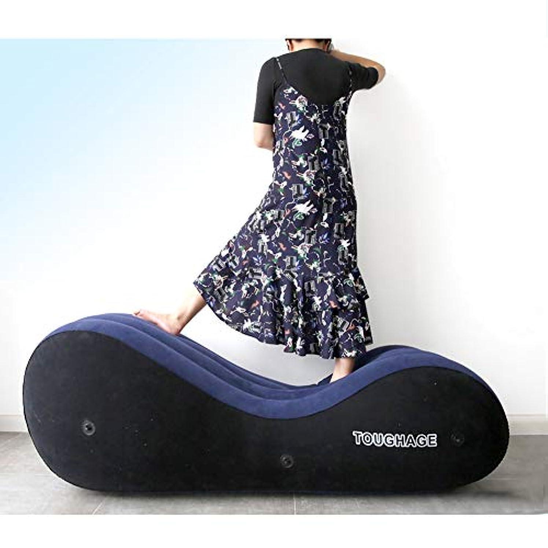 アクティブペチコート曲Rabugoo 大人のおもちゃ 性は大人の膨脹可能なソファーのおもちゃのエアクッションの女性の性の目的をもてあそびます